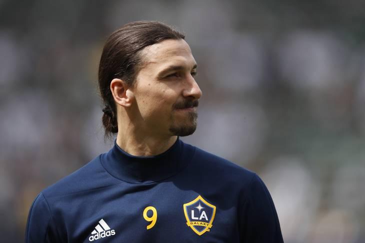 Labdarúgás: Zlatan Ibrahimovic Los Angelesben is megmutatta, hogy honnan származik.