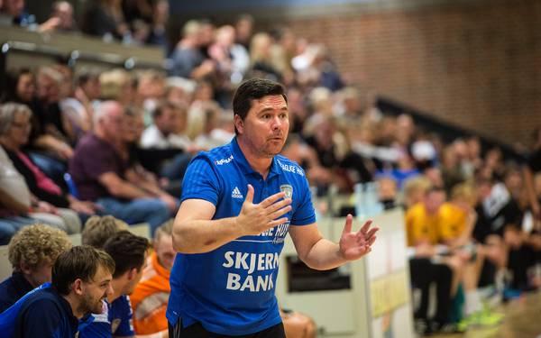 Jan Leslie az utolsó csapatánál a Ribe-Esbjerg-nél. Fotó: Hans Chr. Gabelgaard