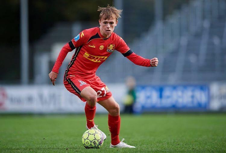 Superliga 10 legnagyobb tehetsége: Mikkel Damsgaard értéke 7millió euró. Fotó fcn.dk