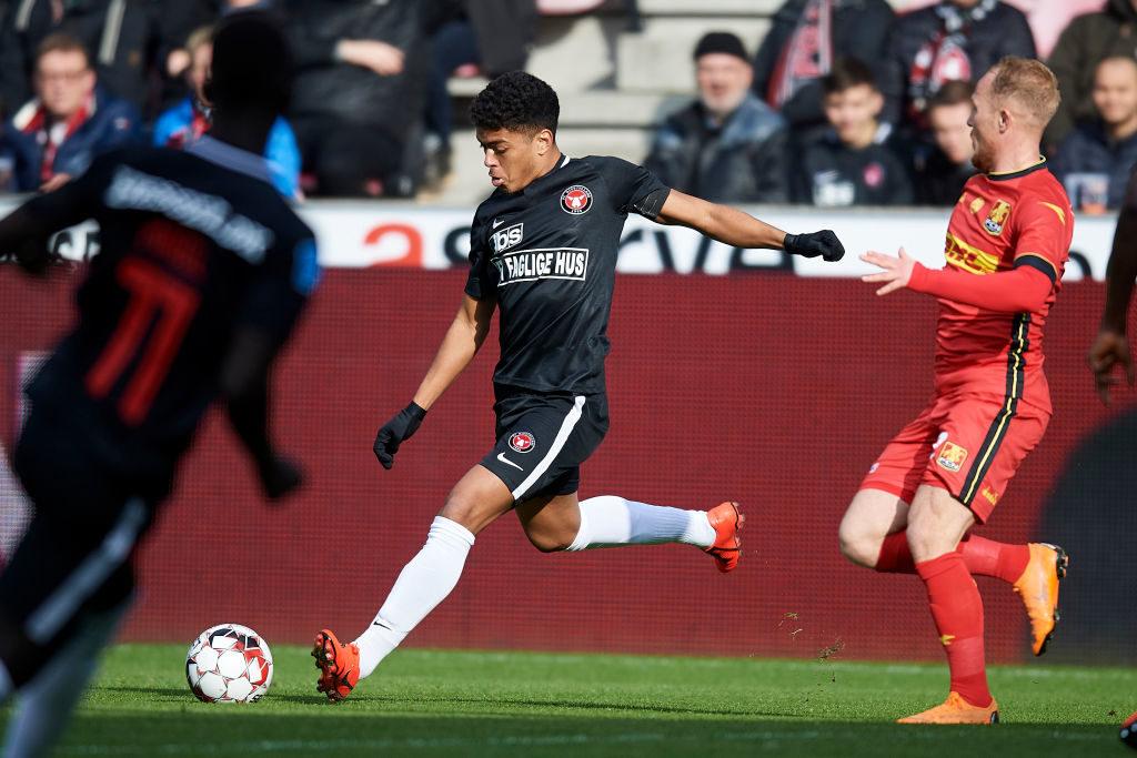 Superliga 10 legnagyobb tehetsége :Evander értéke 4,5 millió euró. fotó: ronaldo.com