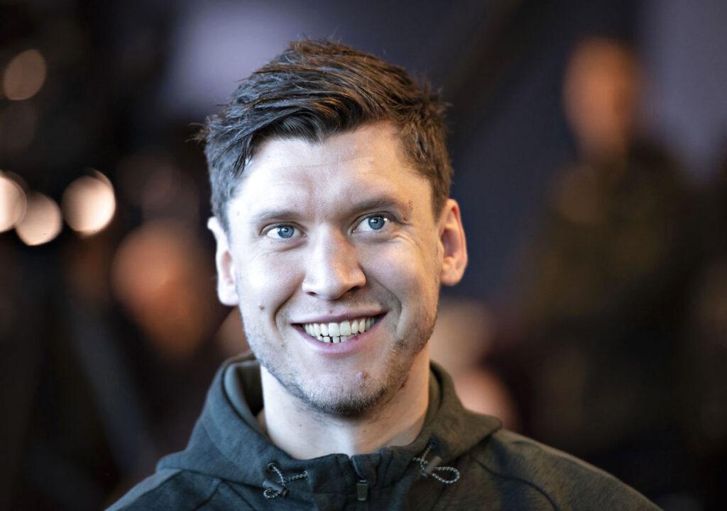 Niklas Landin jól érzi magát Kielben Fotó:Henning Bagger/Ritzau Scanpix)