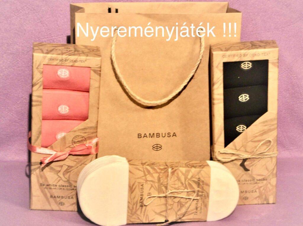 Bambusa nyereményjáték