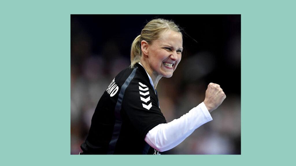 Helle Thomsen a szintet lépett a holland válogatottal. Fotó: Scanpix, dr.dk