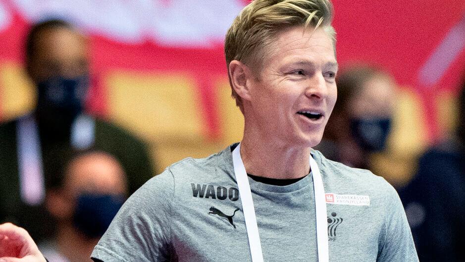 Jesper Jensennek most van oka örömre a sorsolásra tekintve. Fotó Henning Bagger Ritzau Scanpix