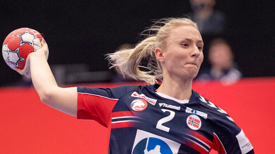 Henny Reistad a Team Esbjerg csapatába igazolt a nyártól.  Fotó: Bo Amstrup / Ritzau Scanpix