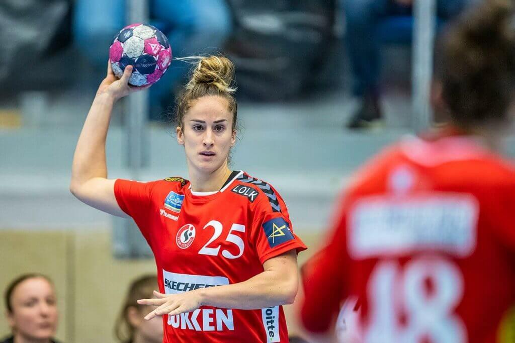 Nerea Pena a volt ferencvárosi közönség kedvenc most ellenfélként tér vissza a Bajnokok-Ligájában. Fotó: facebook / @TeamEsbjerg)