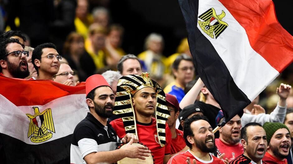 A 2021-es férfi kézilabda-világbajnokság házigazdája Egyiptom, egy igazi kézilabdaőrült ország. Fotó: Jonathan Nackstrand / Scanpix Denmark