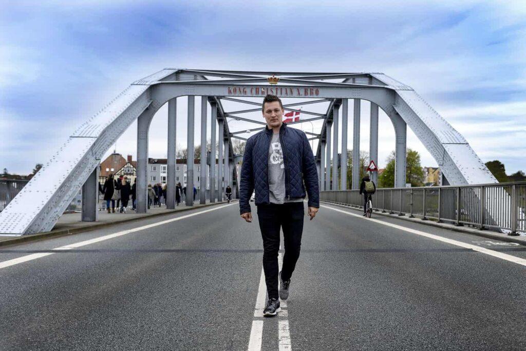 A 35 éves Kasper Christensen három évig volt vezető edző a dán férfi ligában szereplő Sönderjyske csapatánál. Fotó: Claus Thorsted