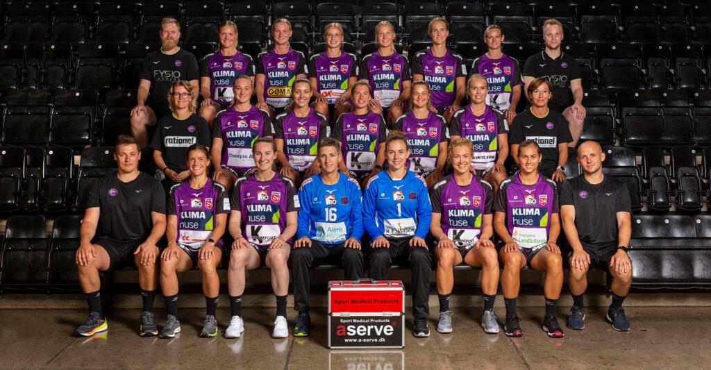 Európa Ligában a Vác ellenfele a Herning-Ikast Håndbold. Fotó: tophaandhold.dk