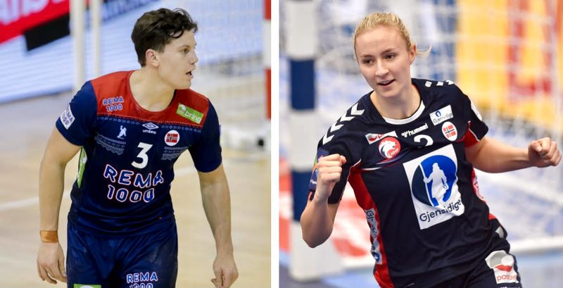 Aksel Horgen és Henny Reistad az új sportoló pár. Fotó NTB Bjørn S. Delebekk