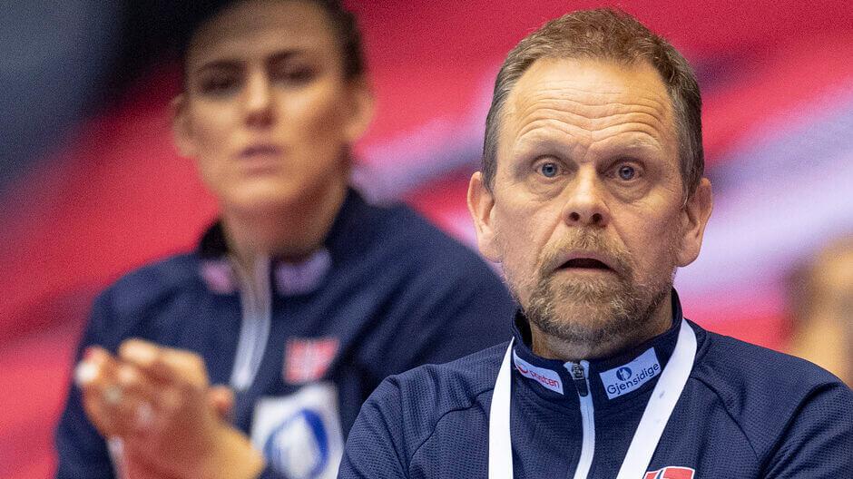 A norvég női kézilabda válogatott kapitánya Thorir Hergeirsson eltörölné az olimpiai selejtező tornát. Fotó: Bo Amstrup / Ritzau Scanpix
