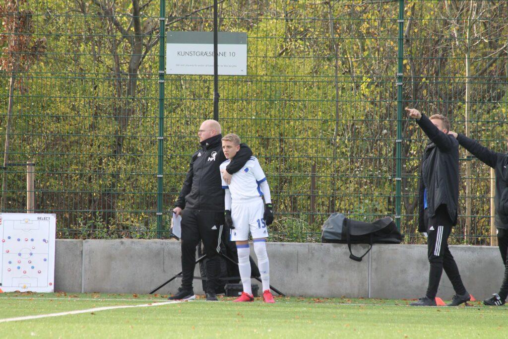 Német Hunor 15 számmal az FC Koppenhága csapatánál jó kezekben van. Fotó: privát.