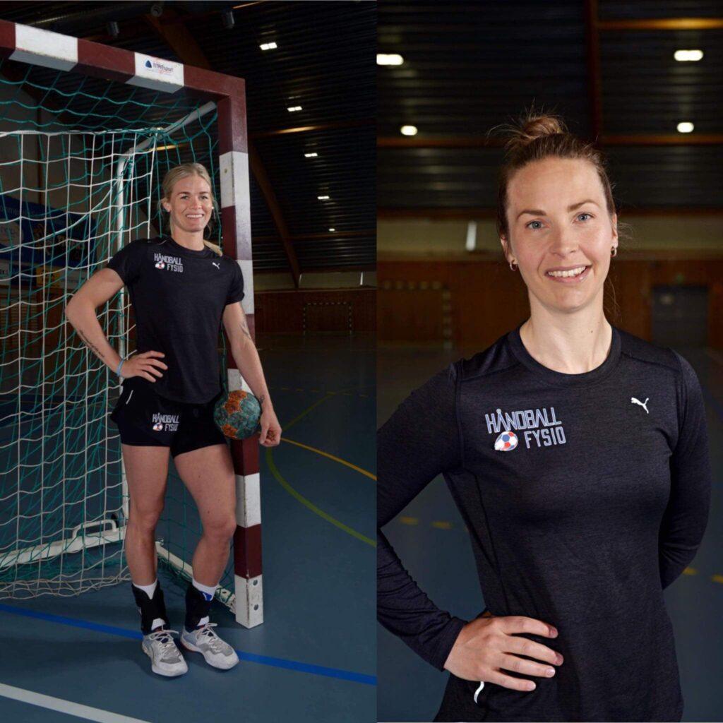 Veronica Kristensen és Sissel Gulaker a handballfysio társtulajdonosai. Fotó: Handballfysio