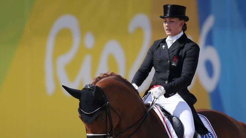 A díjugrató Cathrine Dofour olimpián is képviselte Dániát. Fotó: Tony Gentile © Scanpix