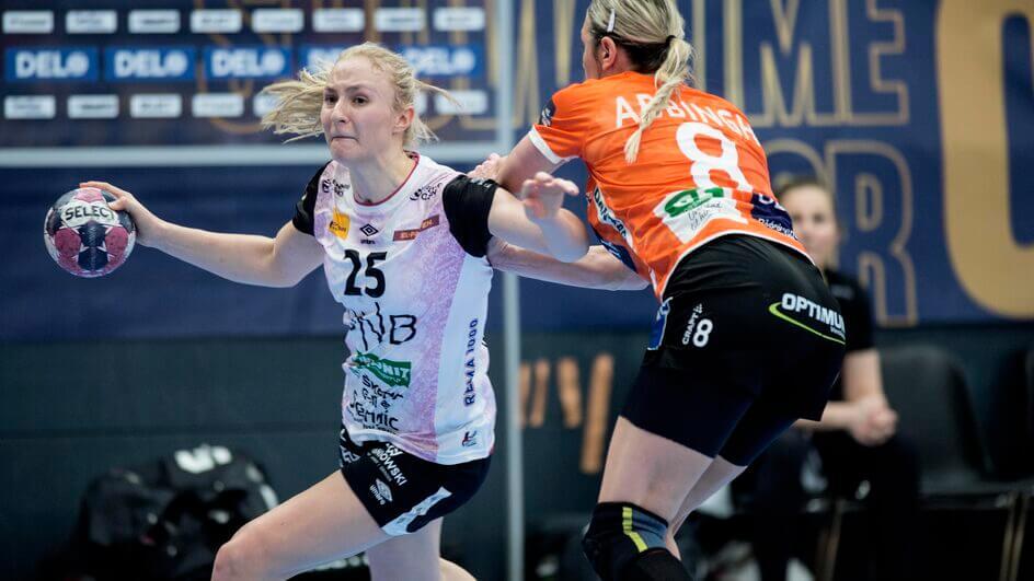 A Team Esbjerg új játékosa a norvég Henny Reistad: Fotó:  Tim Kildeborg/ Jensen Ritzau Scanpix