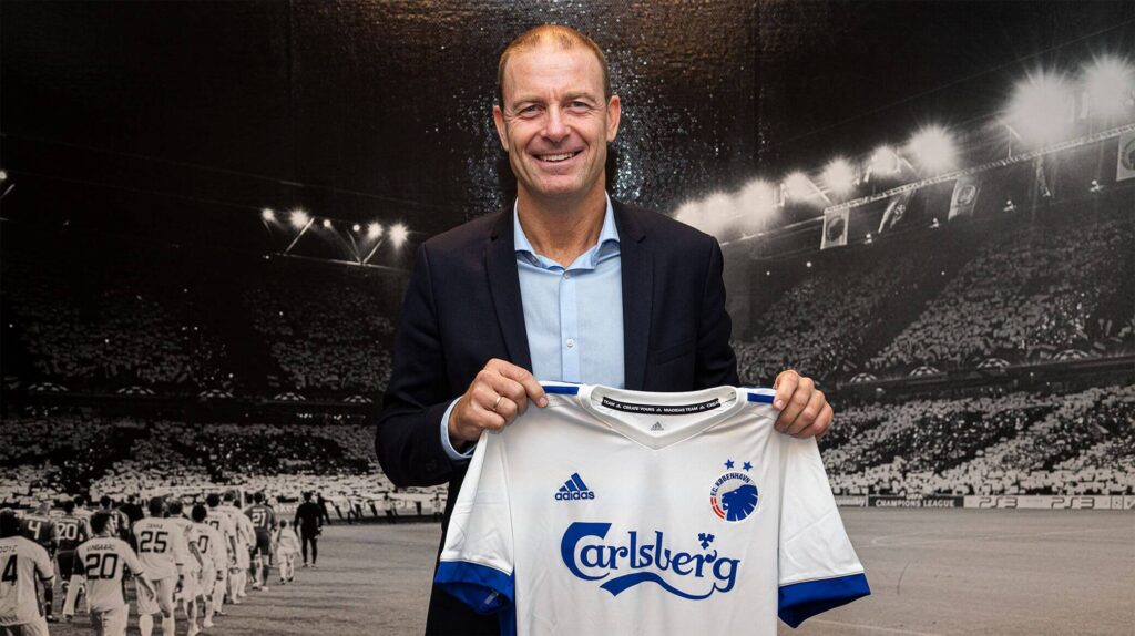 Dán labdarúgás: JESS THORUP feladata, hogy újra bajnok legyen az FC Koppenhága. Fotó: fck.dk