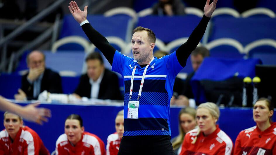 Klavs Brunn Jörgensen 2015-től -2020-ig volt a dán női kézilabda-válogatott élén. Fotó: Liselotte Sabroe / Scanpix Denmark